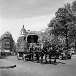 Horse Drawn Carriage. Paris, France