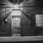 Nighttime Exterior. London, England