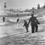 Skiing in Garmisch-Partenkirchen, Germany