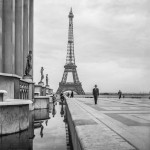 The Eiffel Tower from Palais de Chaillot. Paris, France